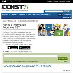 Conception d'un programme d'ÉPI efficace