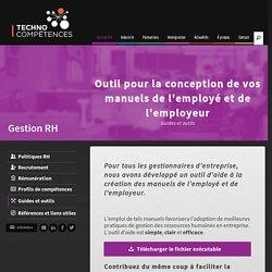 Outil Manuel de l'employé - TechnoCompétences