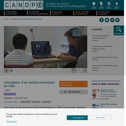 Conception d'un webdocumentaire en CM2 - L'agence des usages des TICE