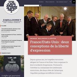France/Etats-Unis : deux conceptions de la liberté d'expression