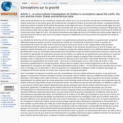 Conceptions sur la gravité - WikiPistes