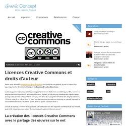 Gracile ConceptLicences Creative Commons et droits d'auteur » Gracile Concept