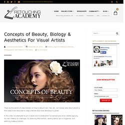 Concepts of Beauty, Biology & Aesthetics For Visual Artists