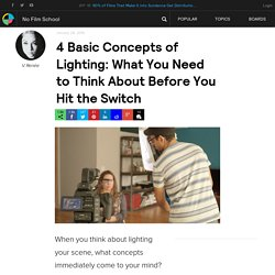 4 Basic Concepts of Lighting: What You Need to Think About Before You Hit the Switch