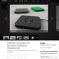 8 Bright Concepts for Portable Gadgetry [Slideshow] | Co.Design