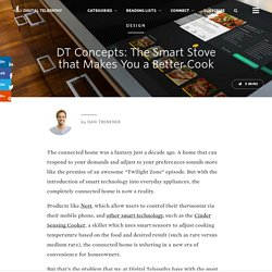 DT Concepts: The Smart Stove that Makes You a Better Cook