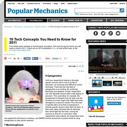 10 Tech Concepts for 2011 - Technology Terms - Popular Mechanics - StumbleUpon
