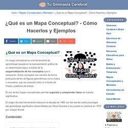 ¿Qué es un Mapa Conceptual? Cómo Hacerlos y Ejemplos