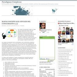 Paradigmas Complexus: Mapas conceptuales: sintaxis del conocimiento (1/3)