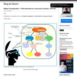 Mapas Conceptuales – 6 Herramientas en Línea para Crearlas