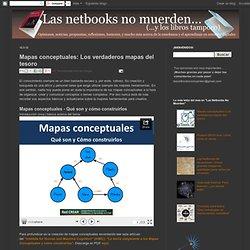 Las Netbooks No Muerden: Mapas conceptuales: Los verdaderos mapas del tesoro
