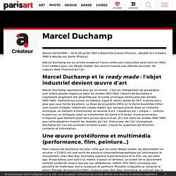 Marcel Duchamp : Art Conceptuel et révolution readymade