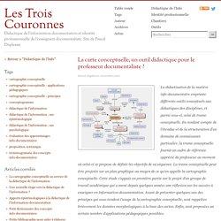 La carte conceptuelle, un outil didactique pour le professeur documentaliste ?