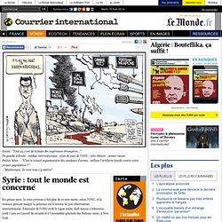 Syrie : tout le monde est concerné