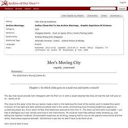 Mer's Moving City - vaguely_concerned - Stargate Atlantis, Howl no Ugoku Shiro