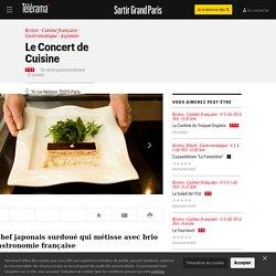 Le Concert de Cuisine - Restos dans le Grand Paris