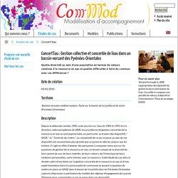 Concert'Eau / Etudes de cas - Commod
