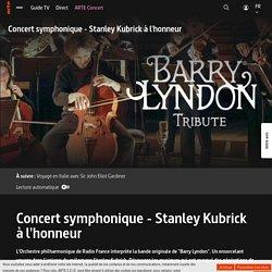 Concert symphonique - Stanley Kubrick à l'honneur
