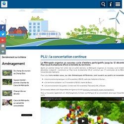 PLU : la concertation continue