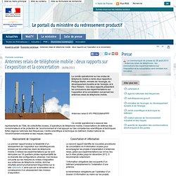 Antennes relais de téléphonie mobile : deux rapports sur l'exposition et la concertation
