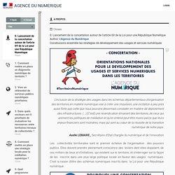 Agence du Numerique - 0. Lancement de la concertation autour de l'article 69 de la Loi pour une République Numérique