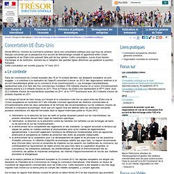 Concertation UE-États-Unis