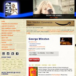 AMP Concerts - Community Concerts and Events across the State of New Mexico - George Winston