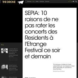 SEPIA: 10 raisons de ne pas rater les concerts des Residents à l'Etrange Festival ce soir et demain