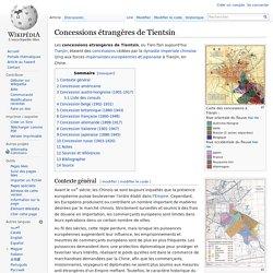 Concessions étrangères de Tientsin
