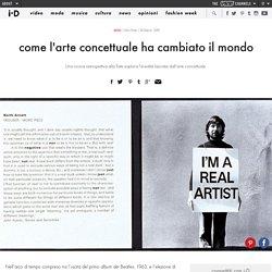 come l'arte concettuale ha cambiato il mondo