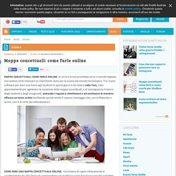 Mappe concettuali: come farle online - Blog - StudentVille.it