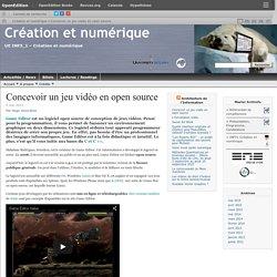 Concevoir un jeu vidéo en open source