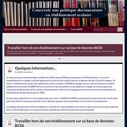 Concevoir une politique documentaire – CDI – Collèges, lycées, LP