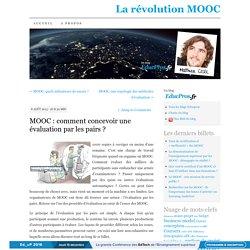 MOOC : comment concevoir une évaluation par les pairs ?