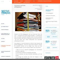 Concevoir une fiche pedagogique