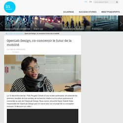OpenLab Design, co-concevoir le futur de la mobilité - In Movement