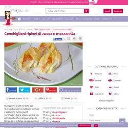 » Conchiglioni ripieni di zucca e mozzarella - Ricetta Conchiglioni ripieni di zucca e mozzarella di Misya