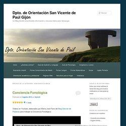 Dpto. de Orientación San Vicente de Paúl Gijón