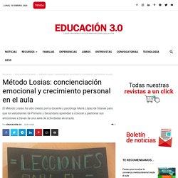 Método Losias: concienciación emocional y crecimiento personal en el aula