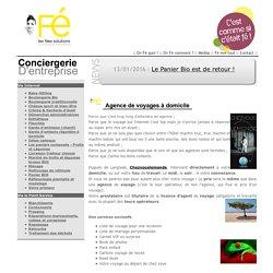 Agence de voyages à domicile - Les Fées Solutions, la conciergerie d'entreprise de Marcq en baroeul et sa région