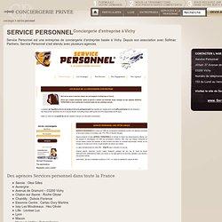 Service Personnel : Conciergerie d'entreprise à Vichy