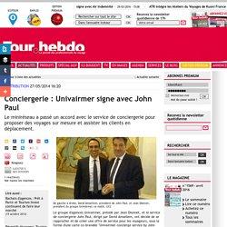 Conciergerie : Univairmer signe avec John Paul