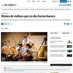 Concierto Cateura: Música de violines que un día fueron basura