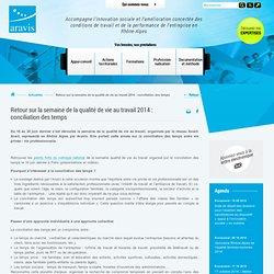 Accompagne l'innovation sociale et l'amélioration concertée des conditions de travail et de la performance de l'entreprise en Rhône-Alpes