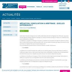 Médiation, conciliation & arbitrage : quelles différences ?