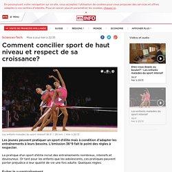 Comment concilier sport de haut niveau et respect de sa croissance? - rts.ch - Sciences-Tech.