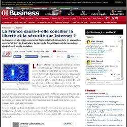 La France saura-t-elle concilier la liberté et la sécurité sur Internet ?