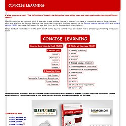 Concise Learning