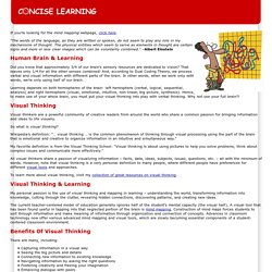 Concise Learning™ - Visual Mapping