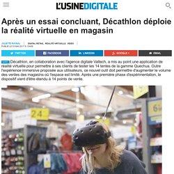 Après un essai concluant, Décathlon déploie la réalité virtuelle en magasin